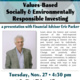 Presentation: Values-Based Socially & Environmentally Responsible Investing
