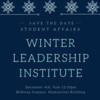 Winter Leadership Institute 2018