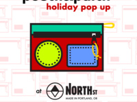 Pouch & Patch Holiday Pop Up