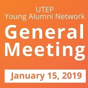 Utep Calendar.Young Alumni Network General Meeting Utep Events Calendar
