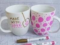 Study Break: Reusable Mug Decoration