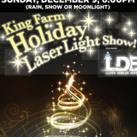 King Farm Holiday Laser Light Show