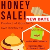 Final Honey Sale for Students, Staff, and Administrators!