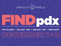FindPDX Pop Up Sale