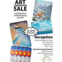 North 1st Street Studio Gallery Art Liquidation Sale