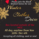 Black Student Union Winter Clothes Drive