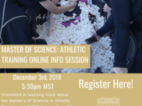 Athletic Training Online Information Session