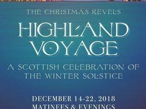 Christmas Revels Highland Voyage Travel Portland