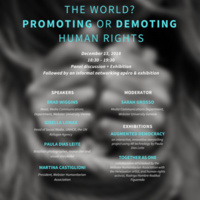 Can social media change the world? promoting or demoting human rights