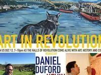 Art In Revolution: Works by Daniel Duford & Kevin Paul
