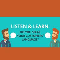Speaking Your Customer's Language (CSAC01-0037)