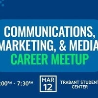 Communications, Marketing, and Media Career Meetup