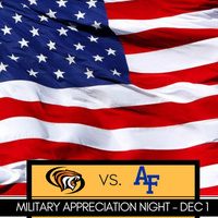 Men's Basketball Military Appreciation Night