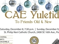 Choral Arts Ensemble Yuletide: To Friends Old and New