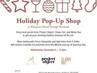 Holiday Pop-Up Shopping