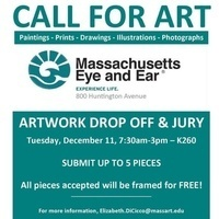 CALL FOR ART - Mass Eye and Ear, 800 Huntington Avenue