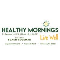 "Healthy Mornings Speaker Series presents ""Laugh Yourself Healthy"""