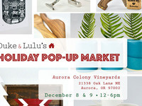 Duke & Lulu's Holiday Pop-Up Market