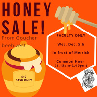 Final Honey Sale! Faculty Only