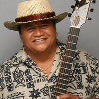 Ledward Kaapana with Fran Guidry