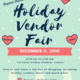 FSC Holiday Vendor Fair