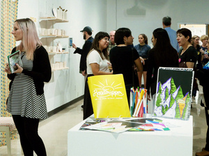 Art Stroll and Wine & Cheese Bar | Arts & Humanities on the Hilltop