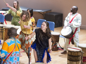 African Music and Dance Ensemble Fall Concert