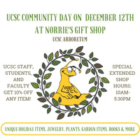 UCSC Community Day at Norrie's Gift Shop