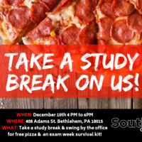 Study Break at SouthSide Commons | Business Services