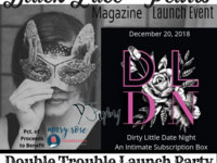 BLP Magazine's Double Trouble Launch Event