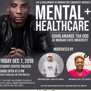 Mental + Healthcare: A Conversation with Charlamagne Tha God