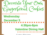 Gingerbread Cookie Decorating