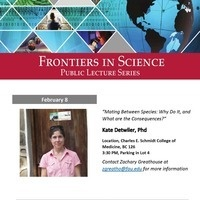 Frontiers in Science Public Lecture Series with Dr. Dr. Kate Detwiler