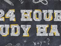 24 Hour Study Hall