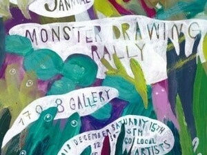 9th Annual Monster Drawing Rally