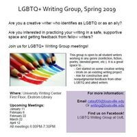 LGBTQ+ Writing Group Meeting