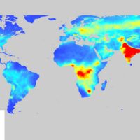 PM 2.5 dynamics in global mega-cities based on long-term remotely sensed observations