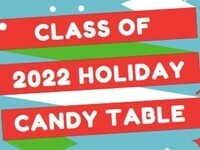 Holiday Candy Table