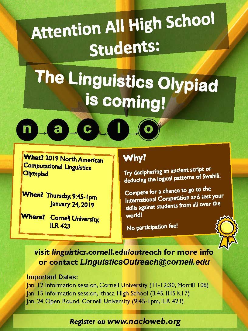 North American Computational Linguistics Olympiad