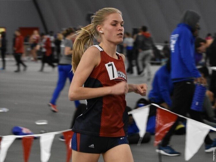 """USI Women's Track & Field at  53rd Annual Hillsdale """"Gina"""" Relays at Hillsdale, MI"""