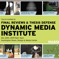 DMI Final Reviews & Thesis Defense