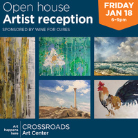 January 2019 Open House + Artist Reception