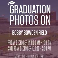 Graduation Photos on Bobby Bowden Field