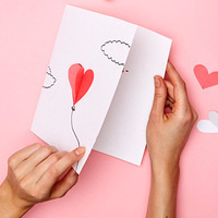 Build Your Own Valentine's Day Card