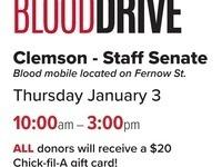 Blood Drive - Blood Connection/CU Staff Senate
