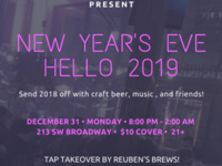 New Year's Eve - Hello 2019