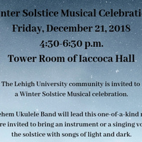 Winter Solstice Musical Celebration - Dec 21 | Chaplain's Office