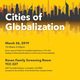 Cities of Globalization Conference