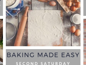 Cooking Class: Baking Made Easy