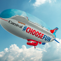 Carnival AirShip Flying Over Santa Clarita - Win Prizes and More!